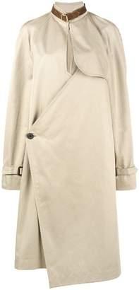 J.W.Anderson asymmetric trench coat