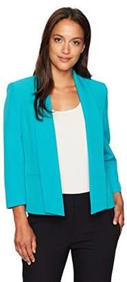 Kasper Women's Petite Size Seamed Open Jacket