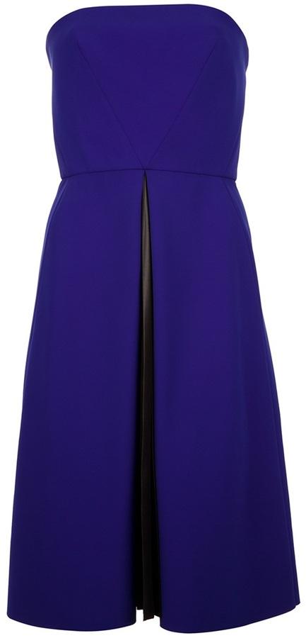 Cédric Charlier strapless dress