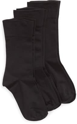 Nordstrom Ultra Sleek 3-Pack Crew Socks