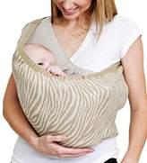 カドルミー 日本製ベビースリング ニットで抱っこ 新生児寝かしつけ Mサイズ カーキゼブラ リバーシブル