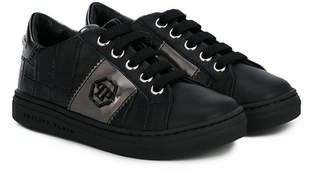 Philipp Plein Junior lace-up sneakers