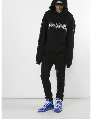 "Vetements Turned on by danger"" sweatpants $690 thestylecure.com"