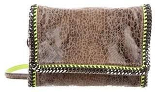 Stella McCartney Faux-Python Falabella Crossbody Bag
