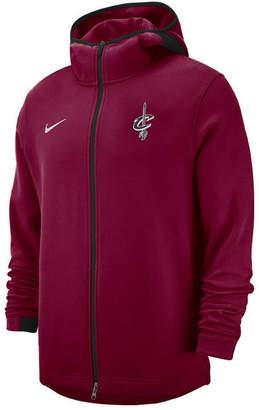 Nike Men Cleveland Cavaliers Dry Showtime Full-Zip Hoodie