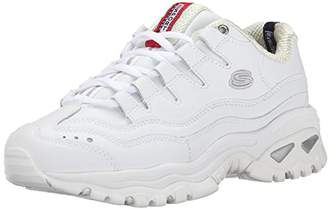 Skechers Sport Women's Energy Wide Sneaker,White/Millenium