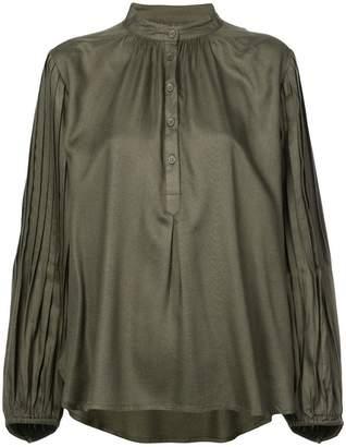 Apiece Apart henley blouse