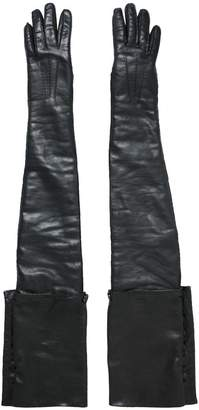 Ann Demeulemeester Leather Golves