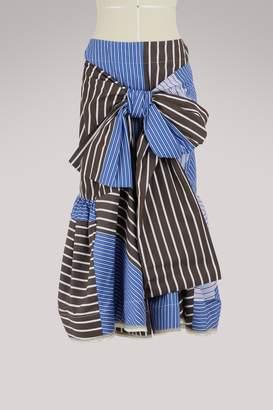 Marni Long knotted skirt
