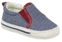 Taldn Slip-On Sneaker in Red/Navy