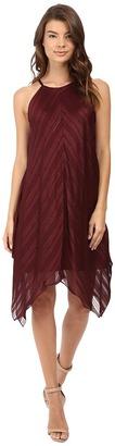 Christin Michaels Franklin Rose Halter Dress $72 thestylecure.com
