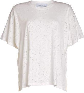 IRO Distressed Cotton T-Shirt