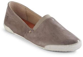 Frye Melanie Slip-On Leather Sneakers