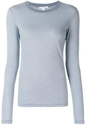 James Perse slim fit jersey top
