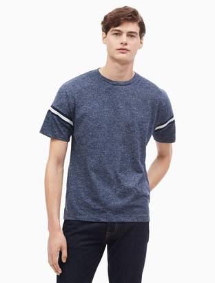 Calvin Klein regular fit striped crewneck t-shirt