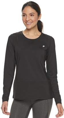 Fila Sport Women's SPORT Mesh Long Sleeve Top