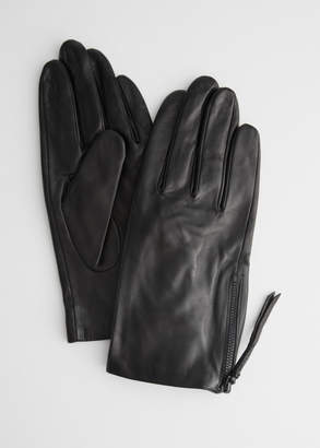 And other stories Side Zip Gloves