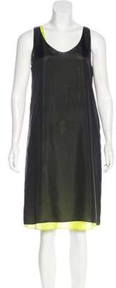 Zero Maria Cornejo Silk Sleeveless Dress