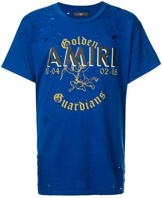 Amiri 'Golden Guardians' T-shirt