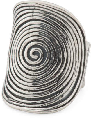 Made In Israel Sterling Silver Concentric Circle Ring