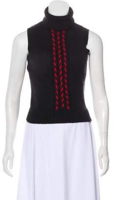 Celine Wool Sleeveless Top