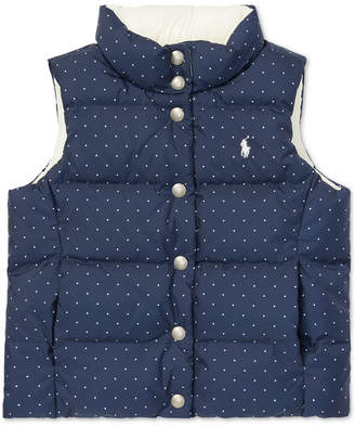 Polo Ralph Lauren Big Girls Reversible Quilted Vest