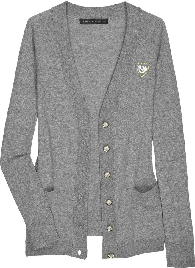 Marc by Marc Jacobs Sunny cotton V-neck cardigan