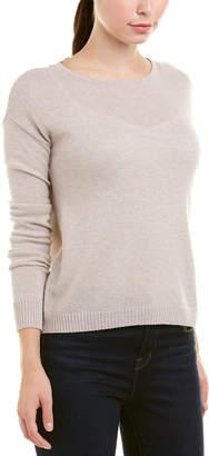 Autumn Cashmere Lace Back Cashmere Sweater