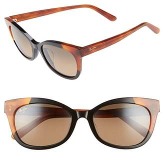 Maui Jim Ilima 53mm PolarizedPlus2(R) Cat Eye Sunglasses