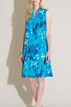 Clara Sunwoo Turquoise Print Dress