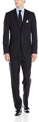 DKNY Men's Dekalb Two Button Slim Fit Suit