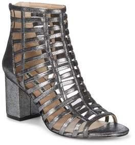 Karl Lagerfeld Paris Jasmin Leather Gladiator Sandals