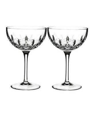 Waterford Crystal Lismore Pops Clear Cocktail Glasses, Set of 2
