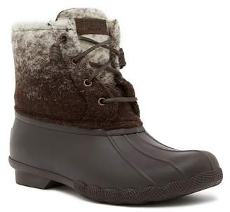 Sperry Saltwater Waterproof Ombre Wool Boot