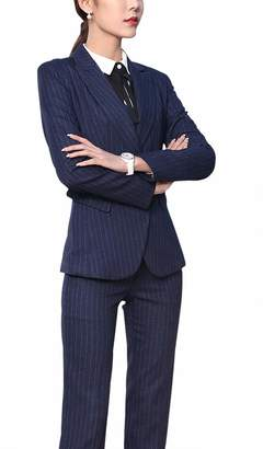 09def25a998 LISUEYNE Women s Three Pieces Office Lady Blazer Business Suit Set Women  Suits for Work Skirt
