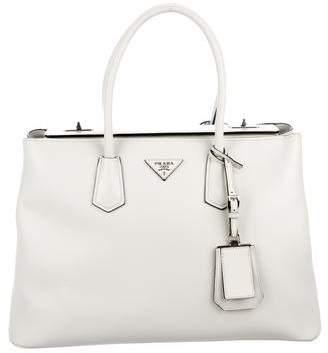 Prada Medium Saffiano Cuir Twin Bag
