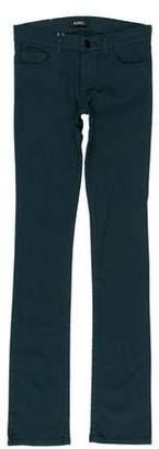 Versace VJC Low-Rise Straight-Leg Jeans w/ Tags