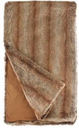 Donna Salyers' Fabulous Furs Donna Salyers Faux Fur Throw - Coyote