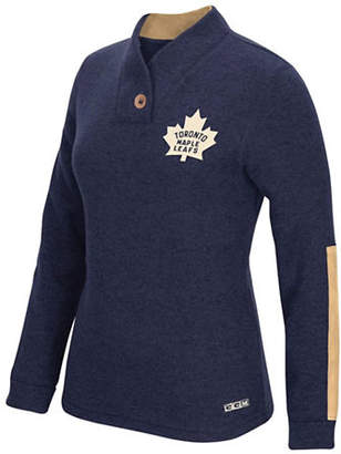 Reebok Toronto Maple Leafs Shawl Collar Pullover