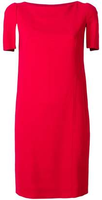 Lanvin contrast sleeve dress