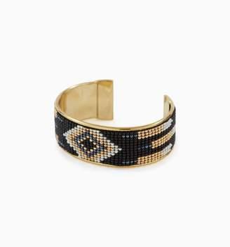 Promod Beaded cuff bracelet