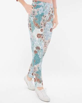 Tapered Printed Ankle Pants