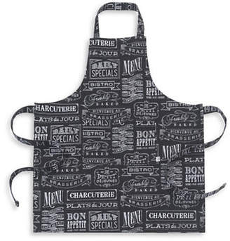 Now Designs Basic Chalkboard Cotton Apron
