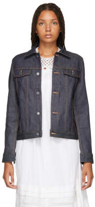 A.P.C. Indigo Brandy Denim Jacket
