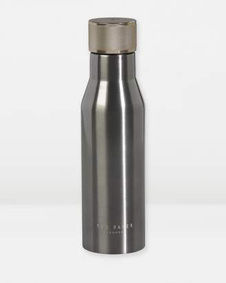 Ted Baker Water Bottle with Knurled Lid