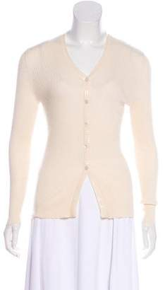 Brunello Cucinelli Long Sleeve Cashmere Cardigan