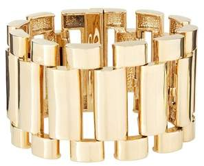 Amanda Wakeley Gold Watch Chain Cuff Bracelet