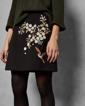 Ted Baker MAIYAA Graceful mini skirt