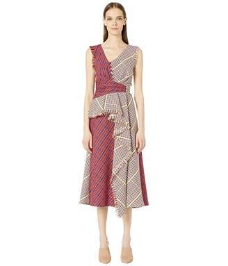 Prabal Gurung Shar Ruffle Front Dress