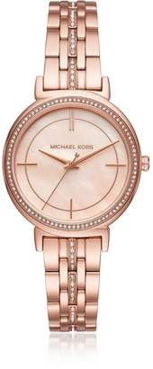 Michael Kors Cinthia Rose Gold-Tone Women's Watch